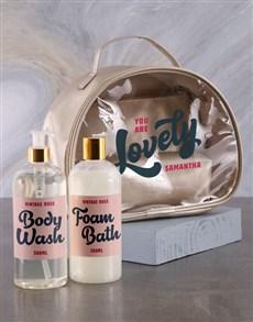 gifts: Personalised Lovely Vanity Hamper!