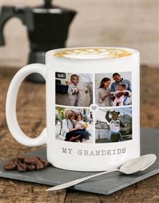 gifts: Personalised My Grandkids Mug!