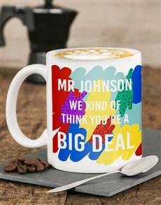 gifts: Personalised Big Deal Mug!