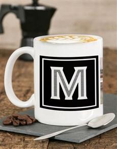 gifts: Personalised Monogram Photo Mug!