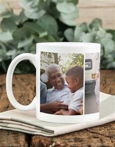 gifts: Personalised Three Photo Memory Mug!