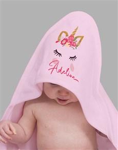 gifts: Personalised Unicorn Baby Gift Hamper!