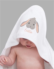 gifts: Personalised Bunny Baby Gift Hamper!