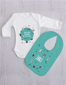 gifts: Personalised Puppy Gift Set!