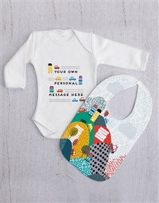 gifts: Personalised Car Baby Gift Set!