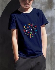 gifts: Personalised Gamer Kids T Shirt!