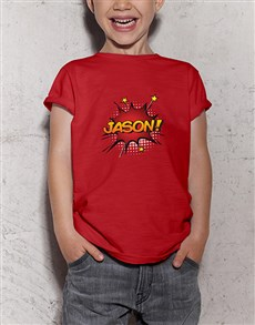 gifts: Personalised Cartoon Kids T Shirt!