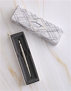 gifts: Personalised Contemporary Parker Pen Sleeve Box!