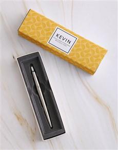gifts: Personalised Elegant Parker Pen Sleeve Box!