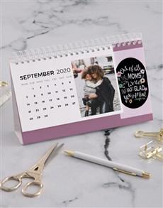 gifts: Personalised My Mom Desk Calendar!