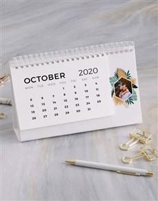 gifts: Personalised Tropical Desk Calendar!