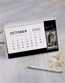 gifts: Personalised Modern Photo Desk Calendar!