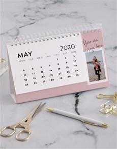 gifts: Personalised Vintage Photo Desk Calendar!