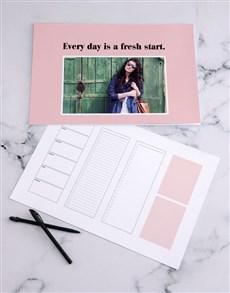 gifts: Personalised Fresh Start Desk Pad!