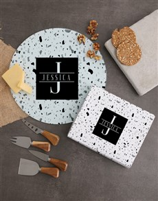gifts: Personalised Name and Initial Cheese Knives!