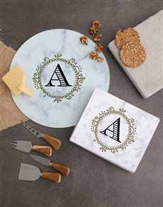 gifts: Personalised Initial Cheese Knives !