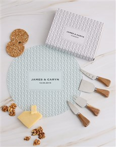 gifts: Personalised Textured Cheese Knives!