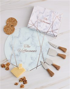 gifts: Personalised Family Cheese Knives!