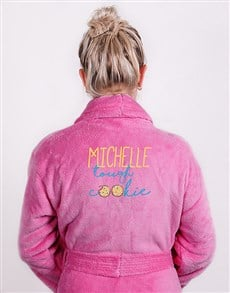 gifts: Personalised Tough Cookie Cerise Gown!