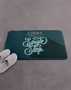 gifts: Personalised Greatest Journey Bath Mat!