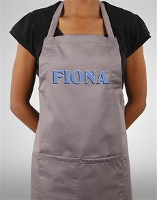 gifts: Personalised Bold Print Apron!
