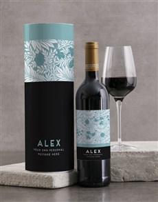 gifts: Personalised Tropical Backsberg Wine Tube!
