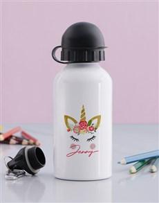 gifts: Personalised Unicorn Bottle!