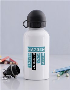 gifts: Personalised Destroy Bottle!