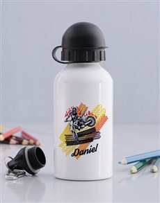 gifts: Personalised Motor Bottle!