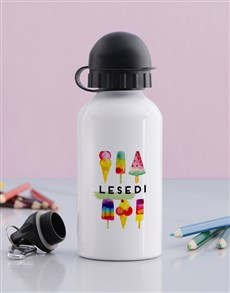gifts: Personalised Ice Cream Bottle !