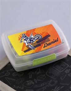 gifts: Personalised Motor Lunch Box!