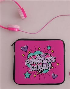 gifts: Personalised Princess Tablet Cover !