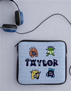 gifts: Personalised Monster Tablet Cover!