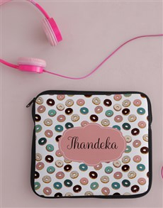gifts: Personalised Donut Tablet Cover!