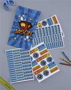 gifts: Personalised Super Kid Labels!