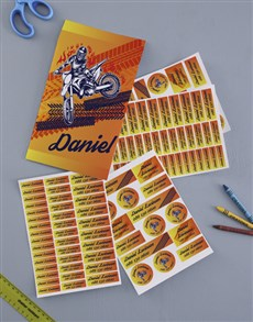 gifts: Personalised Motocross Labels !