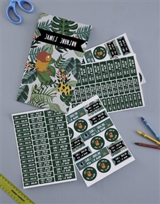 gifts: Personalised Jungle Labels!