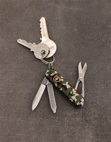 gifts: Personalised Swiss Army Classic Camo!