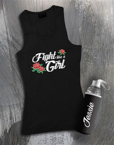 gifts: Personalised Girl Waterbottle And Racerback!