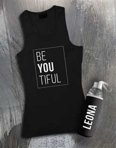 gifts: Personalised Beautiful Waterbottle And Racerback!