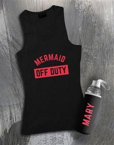 gifts: Personalised Mermaid Waterbottle And Racerback!