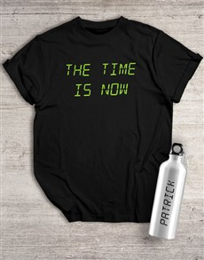 gifts: Personalised Now Waterbottle And T Shirt!