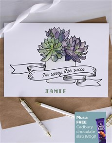gifts: Personalised This Succs Card!