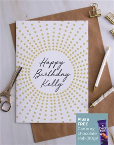 cards: Personalised Sun Happy Birthday Card!