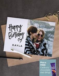 cards: Personalised Picture Perfect Birthday Card!