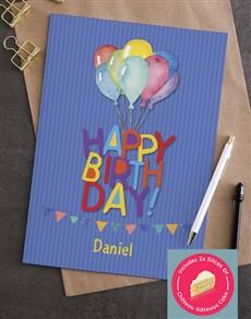 cards: Happy Birthday Balloon Card!