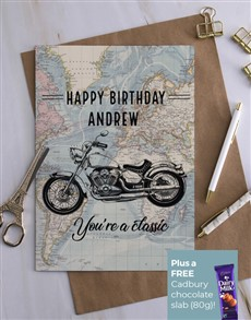 cards: Personalised Classic Birthday Card!