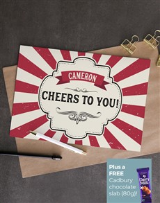 cards: Personalised Carnival Cheers Card!