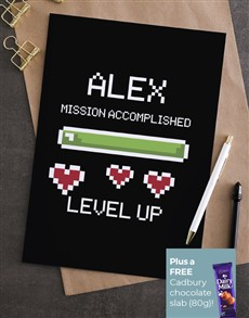 cards: Personalised Mission Accomplished Card!