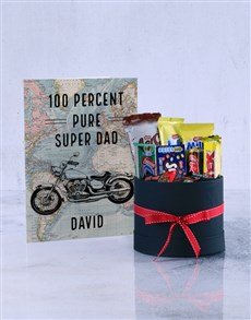 cards: Personalised Super Dad Motorcycle Card!